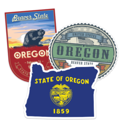 Oregon Car Stickers and Decals