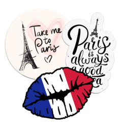 France Car Stickers and Decals
