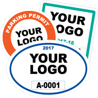 Custom Parking Permits With Your Logo