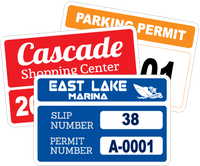 Rectangle Parking Permits