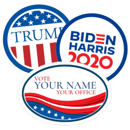 Political Stickers and Decals
