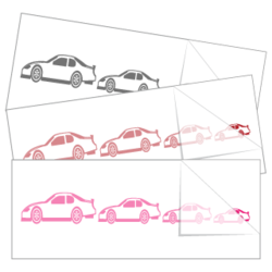Race Car Family Sticker and Decal Singles