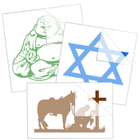 Religious Stickers and Decals