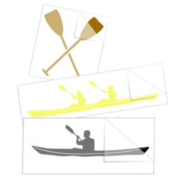 Rowing Car Stickers and Decals