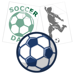 Soccer Car Stickers and Decals