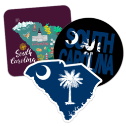 South Carolina Car Stickers and Decals