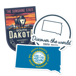 South Dakota Car Stickers and Decals