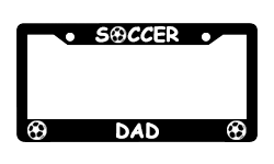 Sports License Plate Frames