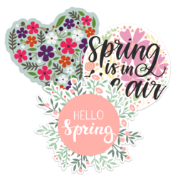Spring Car Stickers and Decals