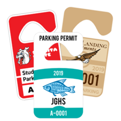 Standard Hang Tag Parking Permits