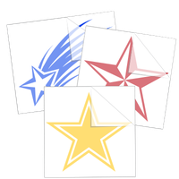 Star Car Stickers and Decals