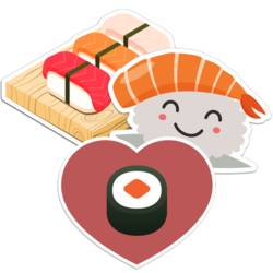 Sushi Car Stickers and Decals