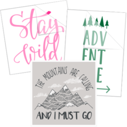 Travel and Adventure Car Stickers and Decals