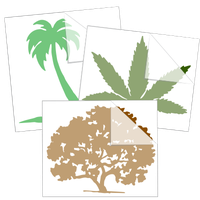 Trees and Plants Stickers and Decals