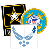 US Military Stickers and Decals