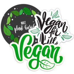 Vegetarian and Vegan Car Stickers and Decals