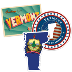 Vermont Car Stickers and Decals