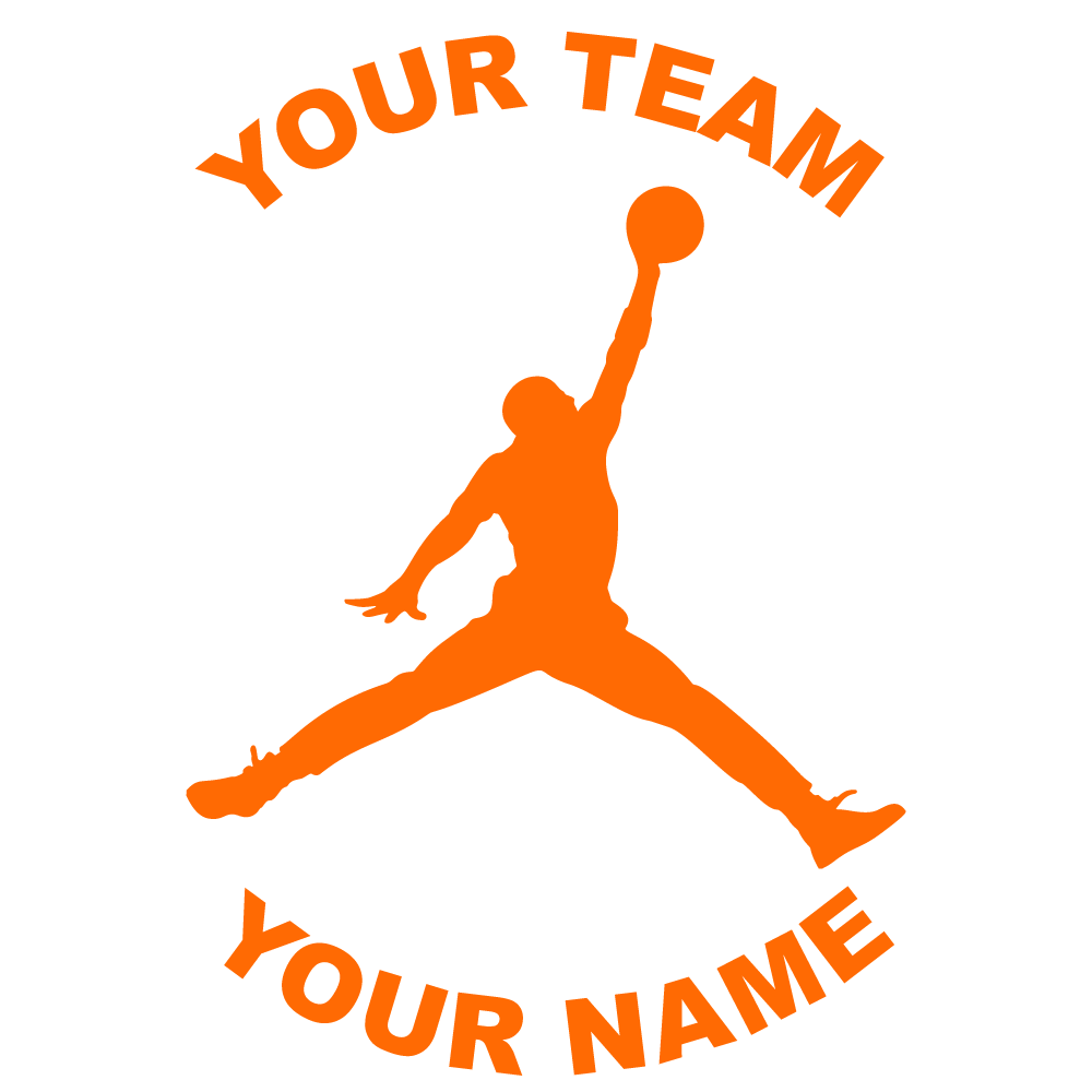 Customize Any Basketball Fundraiser Sticker