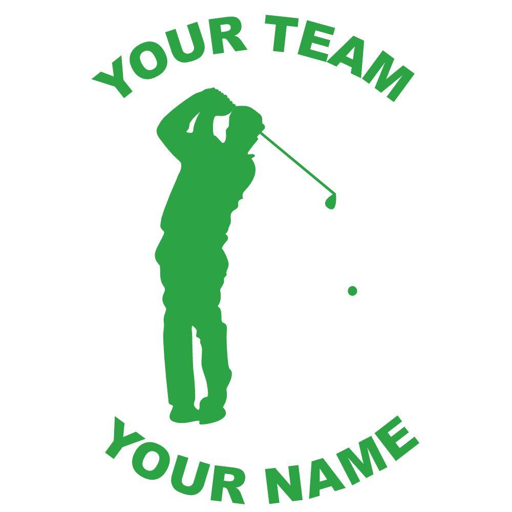 Customize Any Golf Fundraiser Sticker