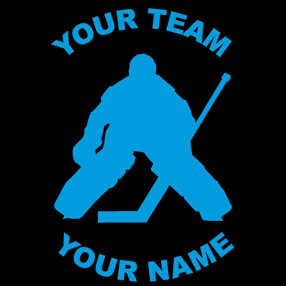 Customize Any Hockey Fundraiser Sticker
