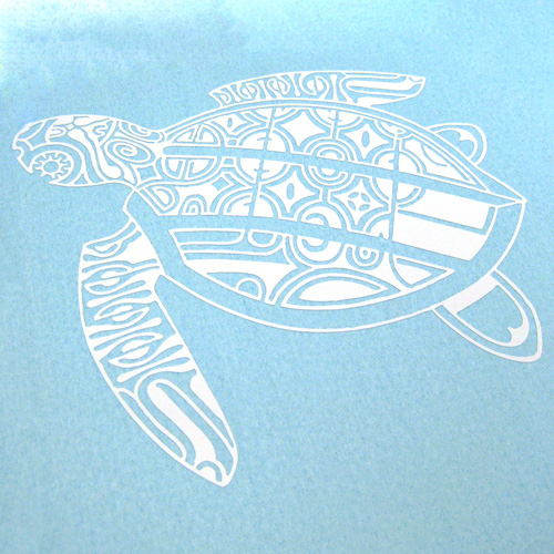 Turtle Custom Cut-Out Sticker