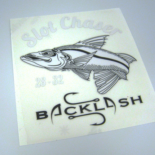 Backlash Designs Custom Multi-Color Cut-Out-Sticker