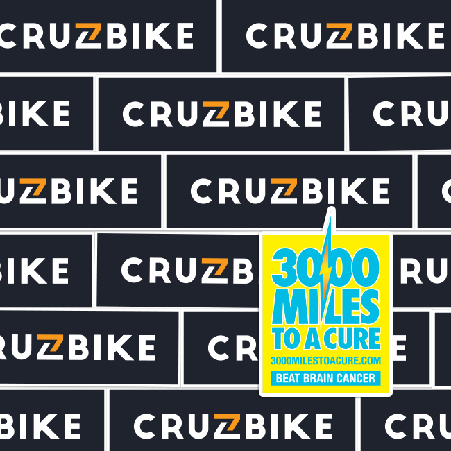 Cruzbike Rectangle Stickers