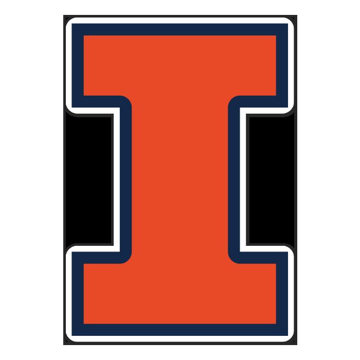Illinois Fighting Illini NCAA Logo Sticker