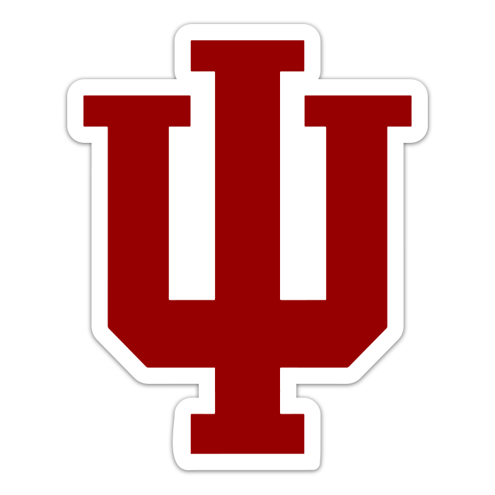 Indiana Hoosiers NCAA Logo Sticker
