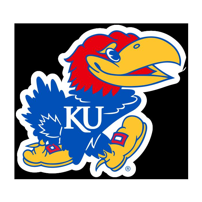 Kansas Jayhawks NCAA Logo Sticker