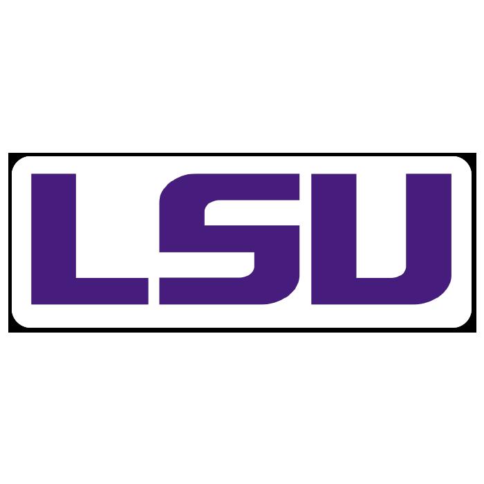 LSU Tigers NCAA Logo Sticker