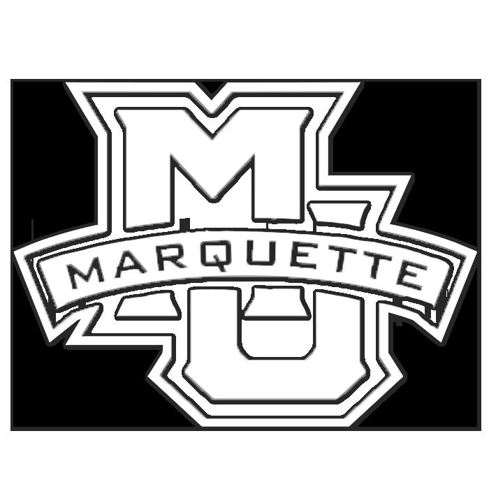 Marquette Golden Eagles NCAA Logo Sticker