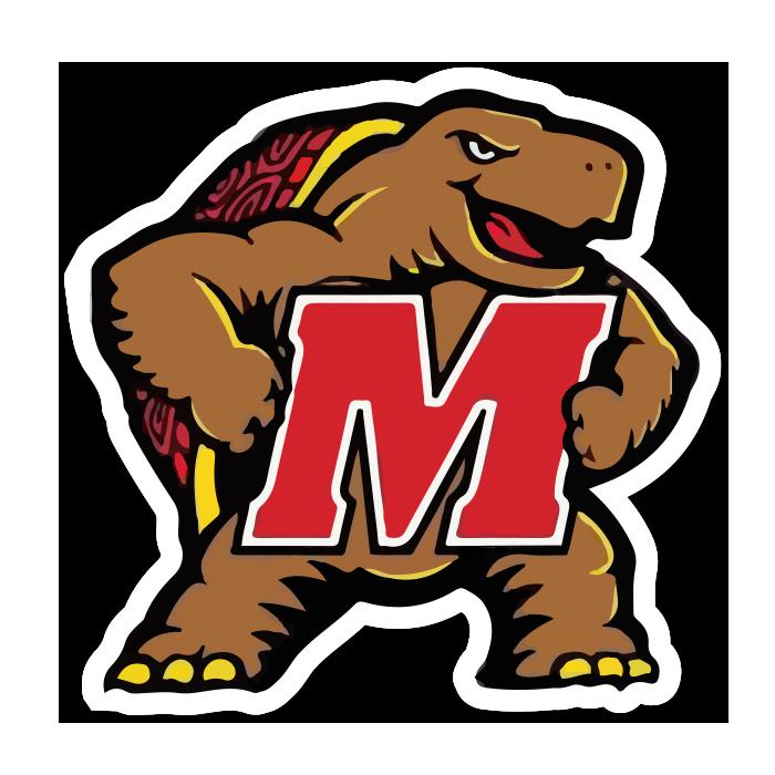Maryland Terrapins NCAA Logo Sticker