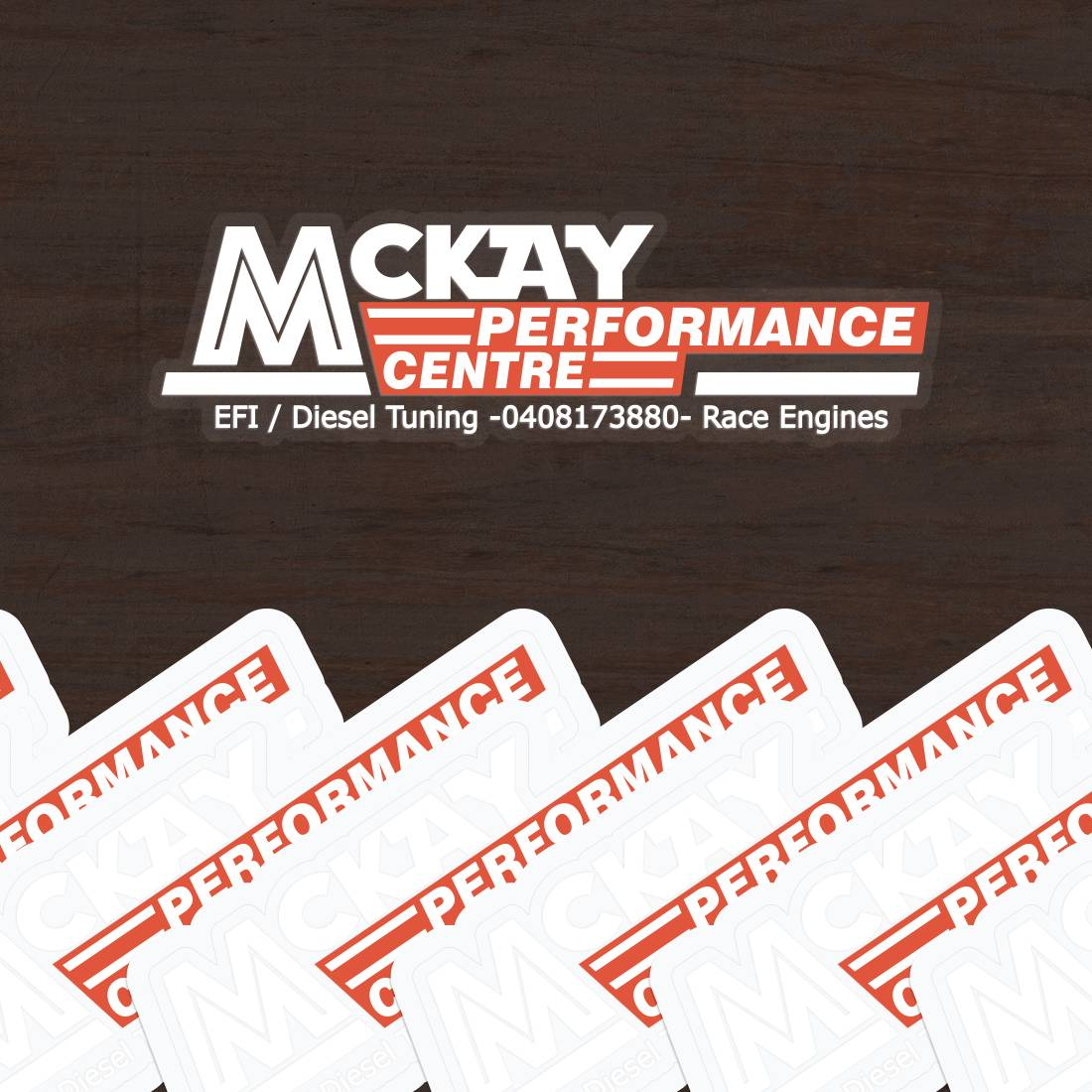 McKay Performance Centre Clear Stickers