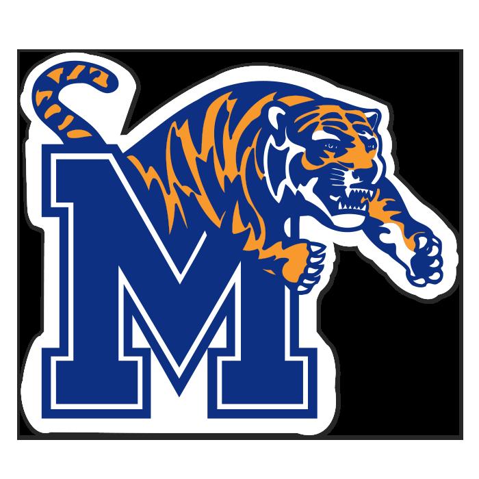 Memphis Tigers NCAA Logo Sticker
