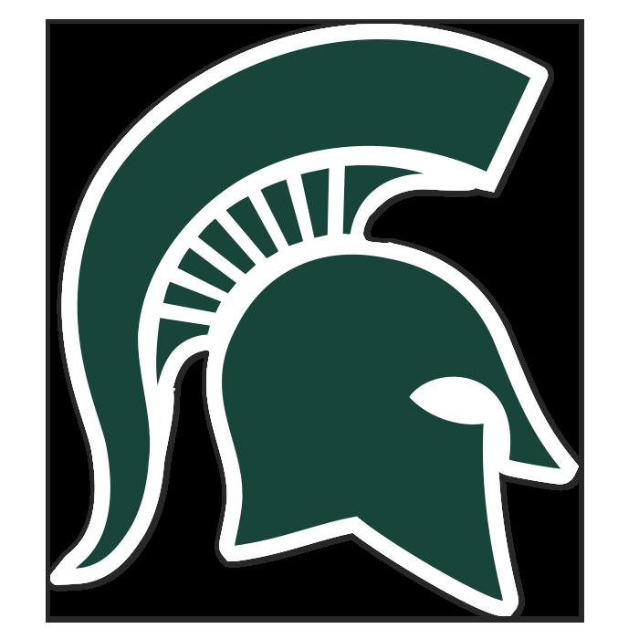 Michigan State Spartans NCAA Logo Sticker