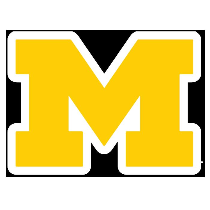 Michigan Wolverines NCAA Logo Sticker