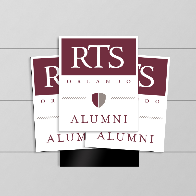 RTS Alumni Rectangle Magnet