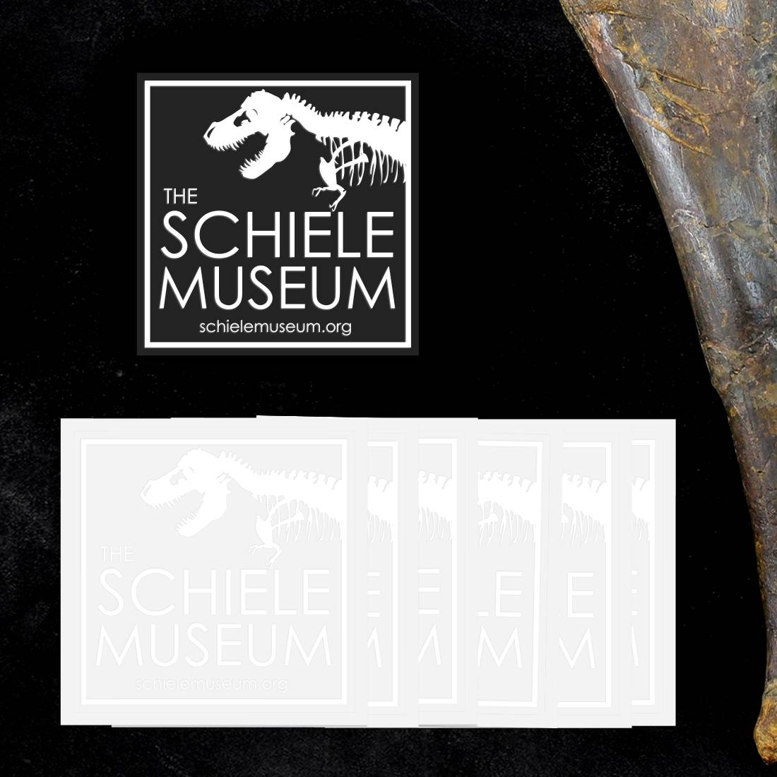 Schiele Museum Clear Stickers