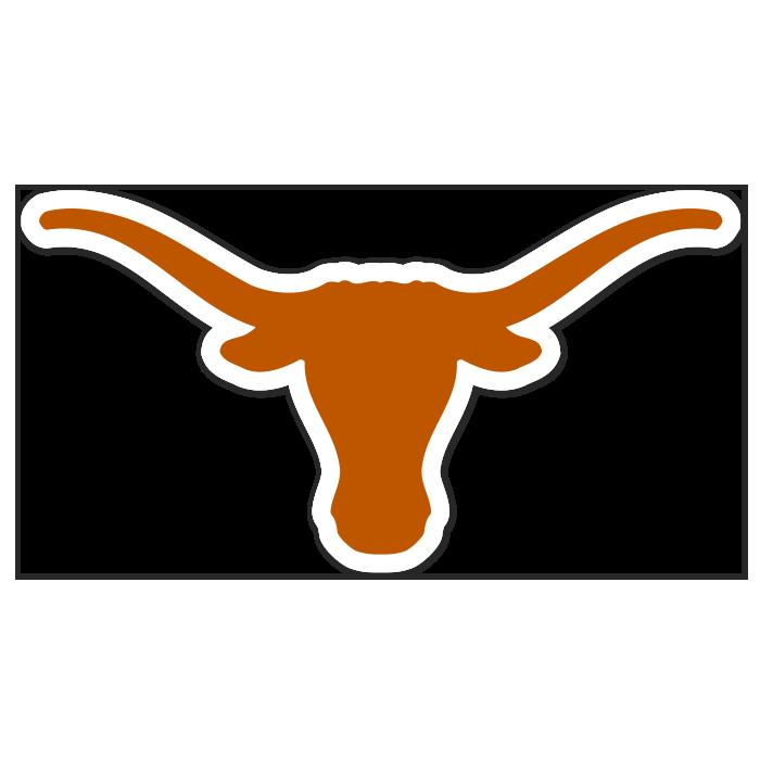 Texas Longhorns NCAA Logo Sticker
