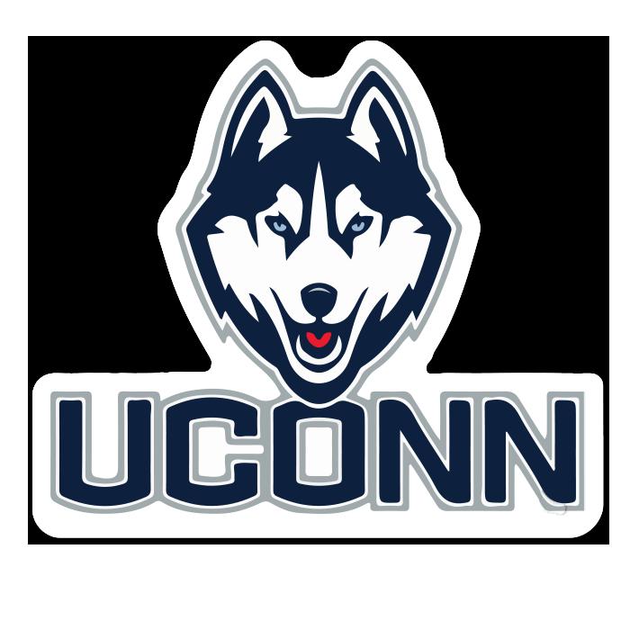 UConn Huskies NCAA Logo Sticker