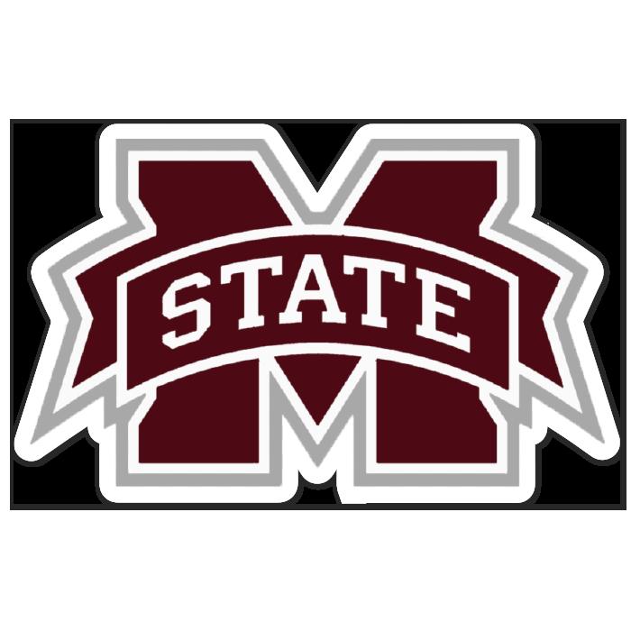 Mississippi State Bulldogs NCAA Logo Sticker