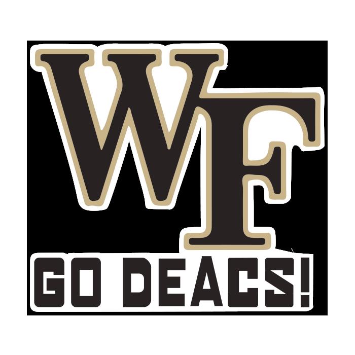 Wake Forest Demon Deacons NCAA Logo Sticker
