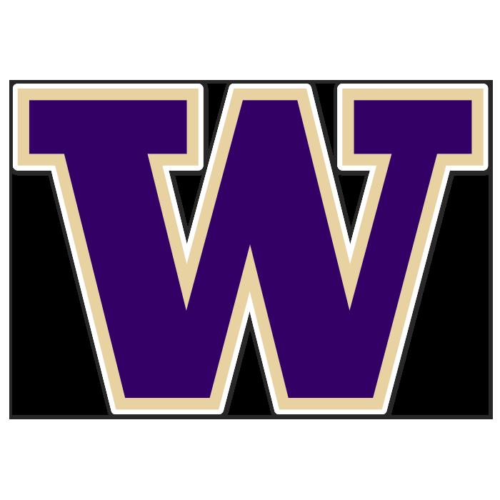 Washington Huskies NCAA Logo Sticker