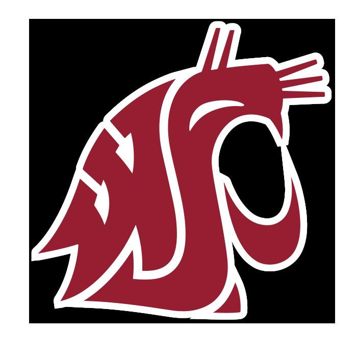 Washington State Cougars NCAA Logo Sticker