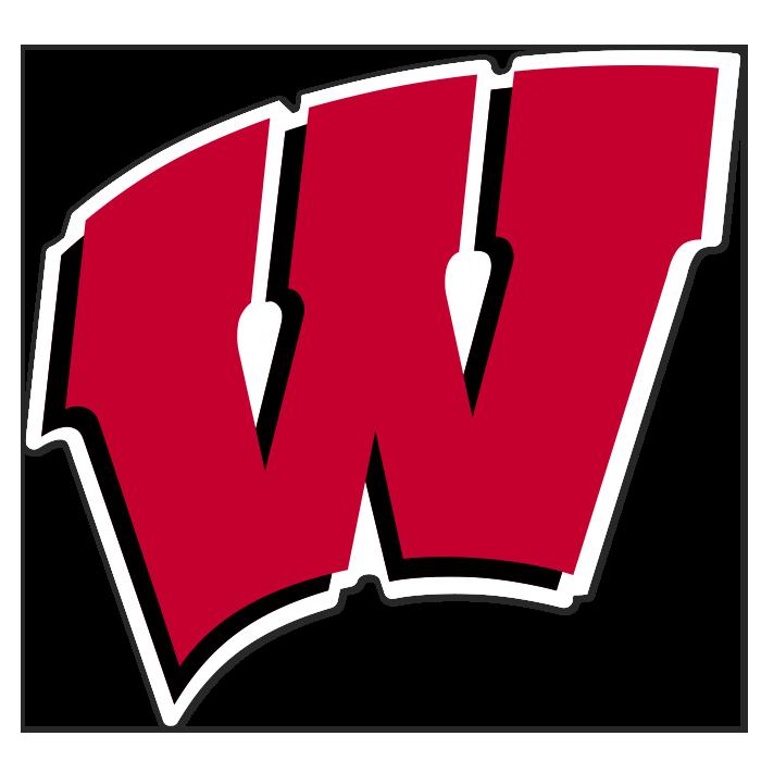 Wisconsin Badgers NCAA Logo Sticker