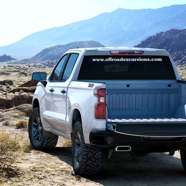 Vinyl Lettering Offroad Excursions