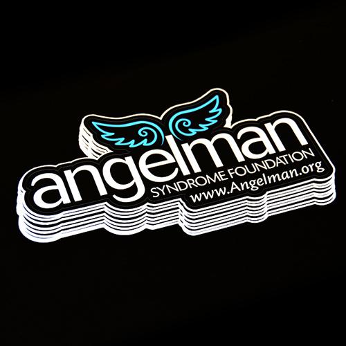 Angelman Die Cut Sticker