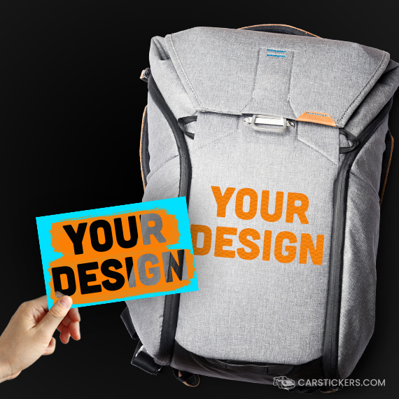 Stencil Stickers Backpack