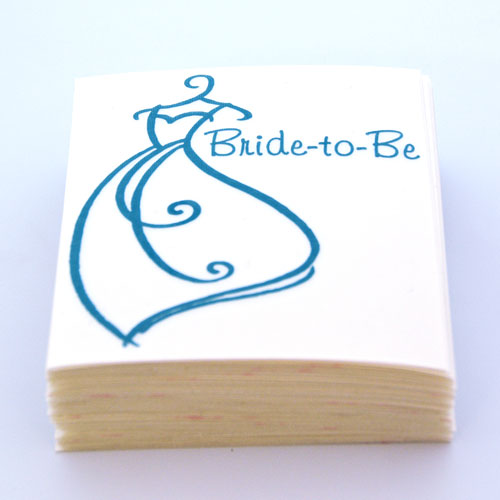 Bride-to-Be Custom Cut-Out Stickers